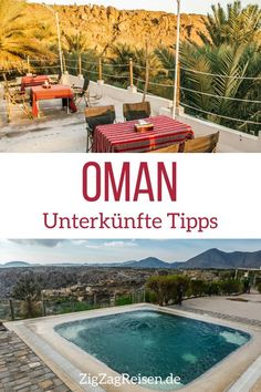 Unterkünfte im Oman – Hotels, Wüstencamps… (Beste Übernachtungsorte) - Reisewelt Oman Hotels, Asia, Victoria Falls, Oman Travel, Advantages Of Watermelon, The Beautiful Country, Kinds Of Salad, Unique Recipes, Middle East