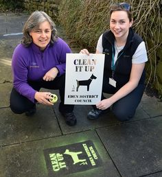 New approach to encourage Eden dog walkers to pick up after their pets http://www.cumbriacrack.com/wp-content/uploads/2017/03/Pic-1-CleanitupStencilCommunitywardens-copy.jpg Eden District Council's Community Wardens will be using a stencil and chalk paint in suitable dog fouling 'hot spots' in the district to alert dog walkers    http://www.cumbriacrack.com/2017/03/29/new-approach-encourage-eden-dog-walkers-pick-pets/