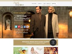 Simply Elegance - a stunning #ecommerce #website that will make your online shop stand out from the rest. Create your online #fashion #furniture #homewares store and enjoy features like e-newsletter subscription pop ups, predictive search, Paypal integration and #socialmedia functionality.