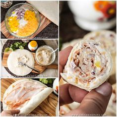 Turkey Ranch Roll Ups Recipe