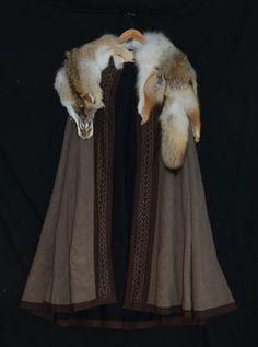 wolf cloak I love the fur.