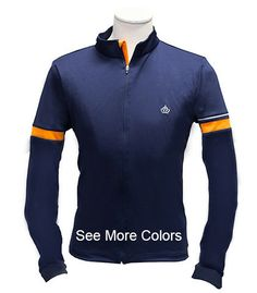 The Edam - Men's Mid-Weight Long Sleeve Merino Blend Jersey