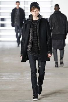 John Elliott Fall 2016 Menswear Fashion Show