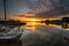 Galway Bay Ireland   Kinvara Docks overlooking Dunguaire Castle, County Galway, Ireland   Gareth Wray, April 18, 2014