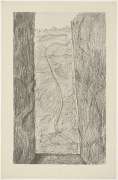 Max Ernst. Les cicatrices (Scars) from Histoire Naturelle. 1926.  (Reproduced frottages executed c. 1925).