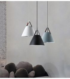 Minimalist Nordic Hanging Light — Charm Home Decor Home Lighting, Modern Lighting, Pendant Lighting, Kitchen Lighting, Lighting Ideas, Restaurant Bar, Bright Homes, Buffet Lamps, Modern Pendant Light