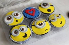 I want minion cupcakes for my birthday... maybe even a minion cake!