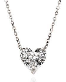 54 best beautiful jewelry images on pinterest heart pendants diamond heart solitaire pendant necklace aloadofball Choice Image