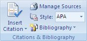 Microsoft Word will create a bibliography AS YOU TYPE YOUR DOCUMENT with citations in text. This amazed me, clearly I don't write many research papers.