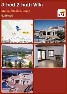 3-bed 2-bath Villa in Murla, Alicante, Spain ►€295,000 #PropertyForSaleInSpain