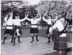1st Bn Gordon Highlanders Dancers  in Singapore 1974