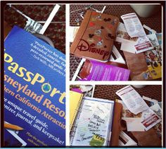 Disneyland Smash Book   - smashbooks are apparently all the rage?
