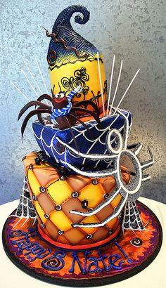 Halloween Cake by Rosebud Cakes