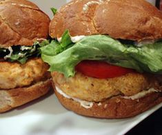 Cajun Chicken Burgers | my kitchen addiction
