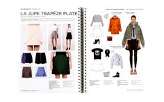 Peclers Paris: Cahier de tendance FASHION KEY ITEMS TREND BOOK FALL WINTER 15-16