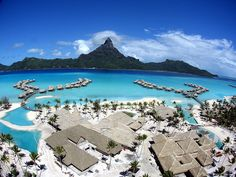 The Intercontinental Resort & Thalasso spa Bora Bora by Pierre Lesage, via Flickr
