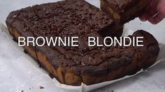 Brondie Brownie Blondie Bar Recipe