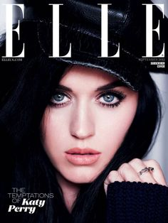 Cover Loving: Katy Perry Graces ELLE UK's September Issue