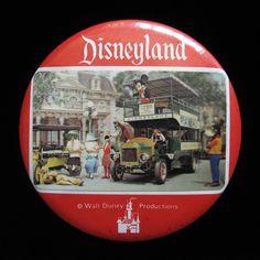 Disneyland pin back