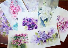 Кусочек из накопившегося цветущего. Оказалось, что большинство цветов в этой гамме бело-розово-сиреневой. А я то собралась в рай вистерийных рощ впридачу... *** A part from my flower collection