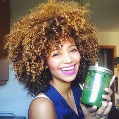 Inspiration coiffure pour cheveux afro
