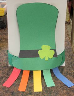 Saint Patrick's hat.  Wear and enjoy March 17th.