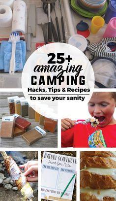 25  Amazing Camping Hacks, Tips
