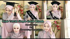 Hijab Tutorial Segi Empat, Meant To Be, Graduation, The Creator, Youtube, Moving On, Youtubers, College Graduation, Youtube Movies