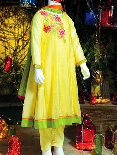 Junaid Jamshed Eid Dresses For Kids 2014 | New Shalwar Kameez Designs For Small Girls