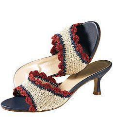 Mi Crochet: Renovar Zapatos con crochet