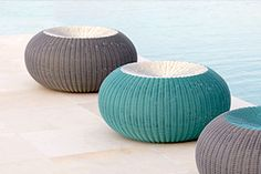 Modern Outdoor Stool by Lebello