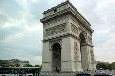 Paris: Arco do Triunfo