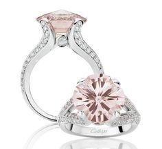 Anillo pedida con diamante rosa Palabra de www.palmiracompilar.com #homenajeatuangel