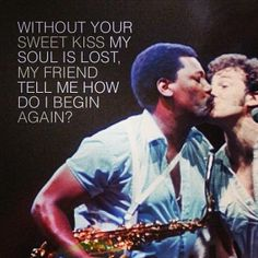 My City of Ruins Bruce Springsteen RIP Clarence Clemmons