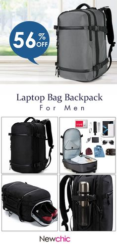 3a6e30623a21 Oxford Large Capacity Waterproof Outdoor Travel Camping Inches Laptop Bag  Backpack is high-quality. Shop on NewChic and buy the best mens backpack  for ...