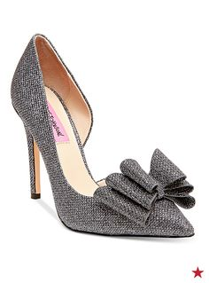 Betsey Johnson Prince d'Orsay evening pumps — it looks like we've found your shoes for prom night. One word: gorgeous!