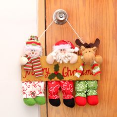Discover recipes, home ideas, style inspiration and other ideas to try. Christmas Crafts, Merry Christmas, Christmas Ornaments, Xmas Decorations, Felt Crafts, Advent Calendar, Decoupage, Santa, Holiday Decor