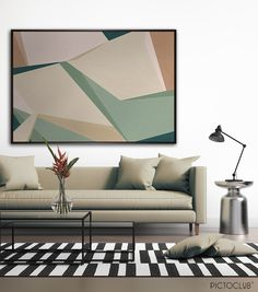 """FOLDING FIELDS"" - Oil on canvas. Exclusive design available in numbered limited edition. Only at www.pictoclub.com"