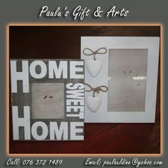 This white frames are in store, just for you to come ans make it yours. Call us on: 076 372 1489 White Frames, Coffee Crafts, Arts And Crafts, Just For You, Make It Yourself, Store, How To Make, Gifts, Stuff To Buy