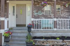 We don't have a big budget so I am going to show you 4 low budget high impact ways to add curb appeal.