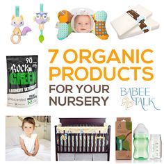 We love all things organic! Check out these 7 organic products we recommend for your nursery: http://www.babeetalk.com/blogs/babeetalkblog/17396840-7-organic-products-for-your-nursery #babeetalk #blog #organic #babyproducts #baby #nursery #ideas #tips #parenting