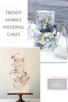 Besides the marble wedding cakes are beautiful and luxury they are big trend in this year. Cake Shapes, Perfect Wedding, Cake Toppers, Wedding Cakes, Favors, Decorative Boxes, Marble, Place Card Holders, Wedding Bride