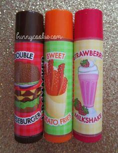Double cheese burger, sweet potato fries, strawberry milkshake