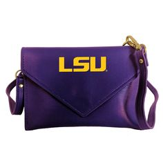 Desden LSU Tigers Clear Gameday Crossbody Bag