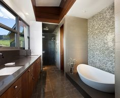Krmpotich Residence - contemporary - Bathroom - Other Metro - Abramson Teiger Architects