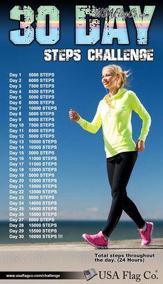 Power Walking, Walking Plan, Walking Program, Walking Challenge, 30 Day Challenge, Workout Challenge, Thigh Challenge, Plank Challenge, Workout Plans