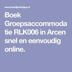 Boek Groepsaccommodatie RLK006 in Arcen snel en eenvoudig online.