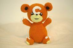 Sabrina's Crochet: Crochet pattern Teddiursa (pokemon)