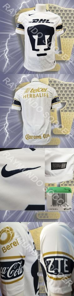 Men 123490: Nike Pumas Unam 2017 2018 Stadium Home Jersey (847312-452) -> BUY IT NOW ONLY: $88.99 on eBay!