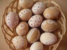 Easter Eggs - kraslice přírodní
